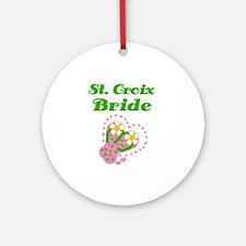 St. Croix Bride Ornament (Round)