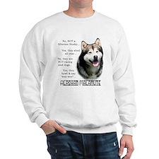 Malamute FAQ Sweatshirt