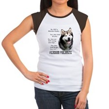 Malamute FAQ Women's Cap Sleeve T-Shirt