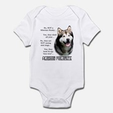 Malamute FAQ Infant Bodysuit