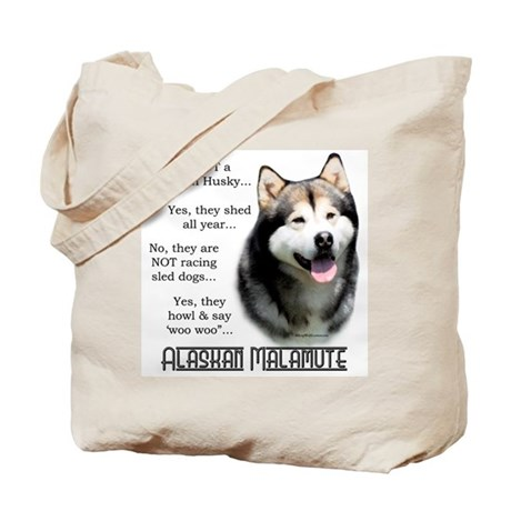 Malamute FAQ Tote Bag