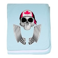 Canadian Butcher baby blanket