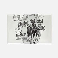 Unique Glacier national park Rectangle Magnet (10 pack)