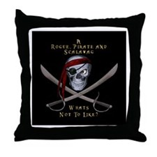 Rogue & Scalawag Throw Pillow