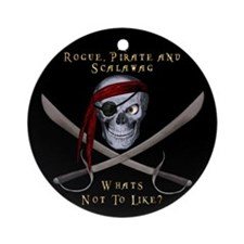 Rogue & Scalawag Ornament (Round)
