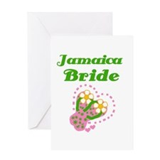Jamaica Bride Greeting Card