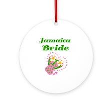Jamaica Bride Ornament (Round)