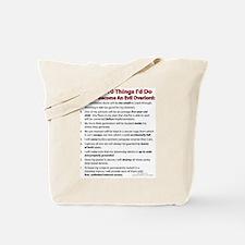 Evil Top 10! Tote Bag