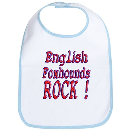 English Foxhounds Bib