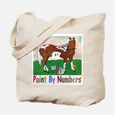 """PAINT BY NUMBERS"" Tote Bag"
