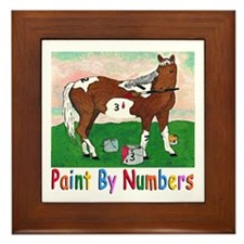 """""""PAINT BY NUMBERS"""" Framed Tile"""