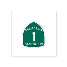 "Cute Camp san luis obispo Square Sticker 3"" x 3"""