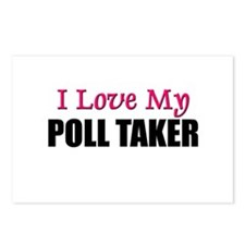 I Love My POLL TAKER Postcards (Package of 8)