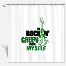 RockinGreenForMyself Shower Curtain