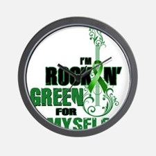 RockinGreenForMyself Wall Clock