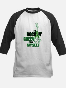 RockinGreenForMyself Baseball Jersey