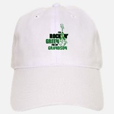 RockinGreenForGrandson Baseball Baseball Baseball Cap