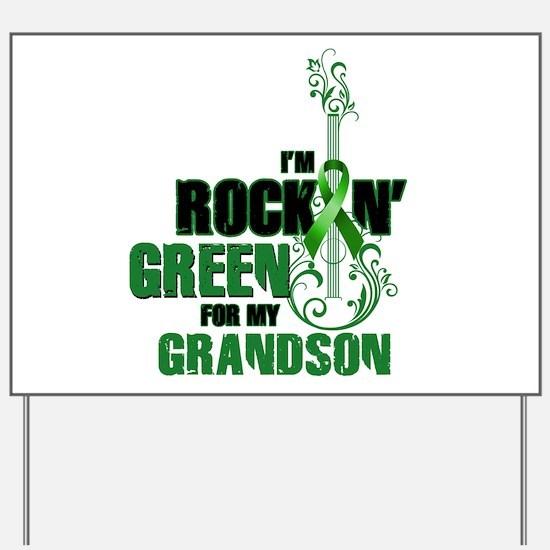 RockinGreenForGrandson Yard Sign