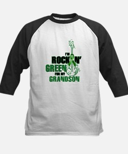 RockinGreenForGrandson Baseball Jersey