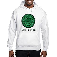 Green Man Hoodie