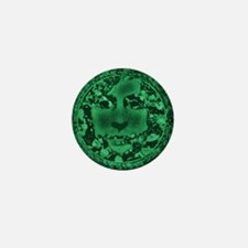 Green Man Mini Button