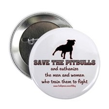 Save The Pit bulls Button