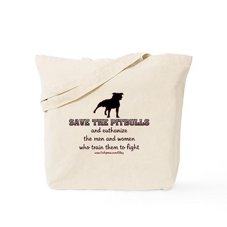 Save The Pit bulls Tote Bag