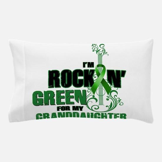 RockinGreenForGranddaughter Pillow Case