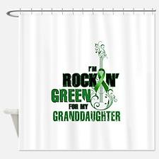 RockinGreenForGranddaughter Shower Curtain
