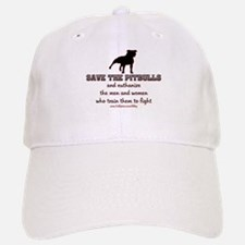Save The Pit bulls Baseball Baseball Cap
