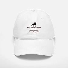 Save The Pit bulls Baseball Baseball Cap