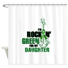 RockinGreenForDaughter Shower Curtain
