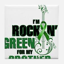 RockinGreenForBrother Tile Coaster