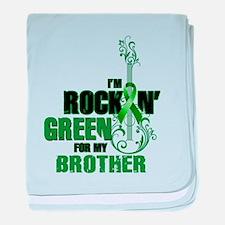 RockinGreenForBrother baby blanket
