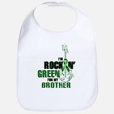RockinGreenForBrother Bib