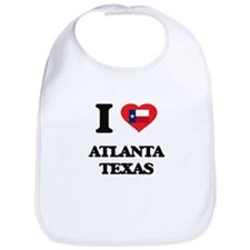 I love Atlanta Texas Bib