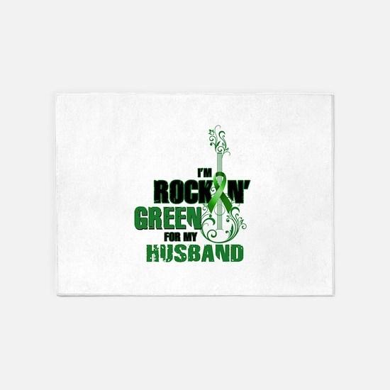 RockinGreenForHusband 5'x7'Area Rug