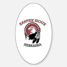 Santee Sioux Decal