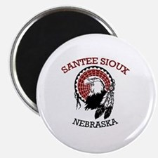 Santee Sioux Magnet