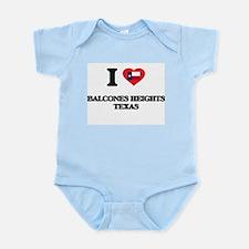 I love Balcones Heights Texas Body Suit
