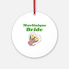 Martinique Bride Ornament (Round)