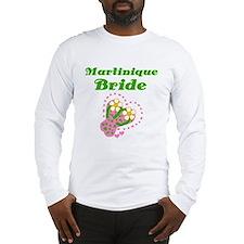 Martinique Bride Long Sleeve T-Shirt