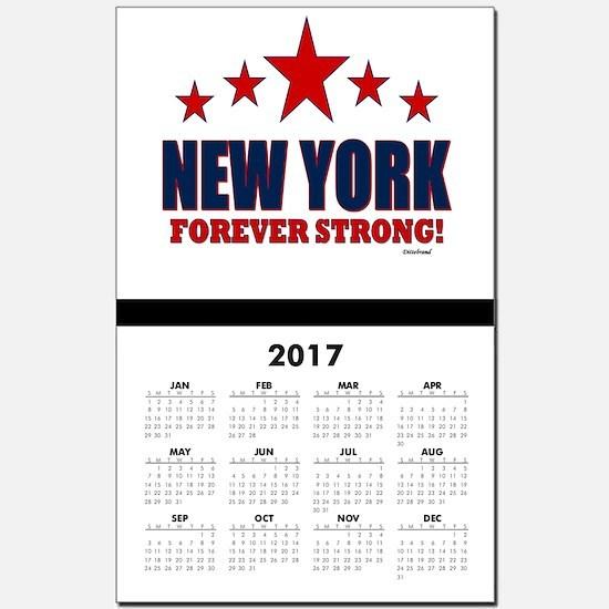 New York City Calendar Print