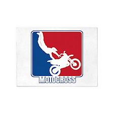 Major League Motocross 5'x7'Area Rug