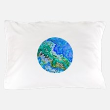 Native American Indian Turquoise Pillow Case