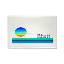 Rhett Rectangle Magnet