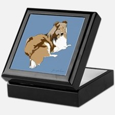 The Artsy Dog Keepsake Box
