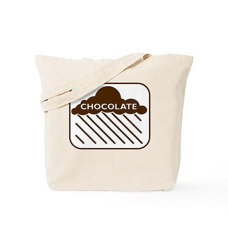 'Rain Cloud Chocolate' Tote Bag
