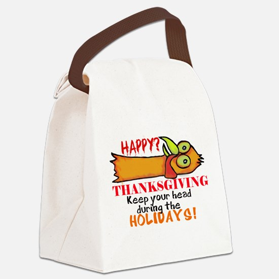 Happy? Thanksgiving Canvas Lunch Bag