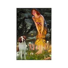 Midsummer's Eve/Brittany Rectangle Magnet